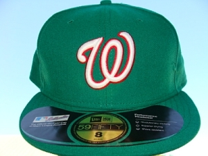 Get it? A green Washington cap? Aha!