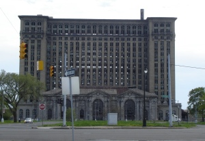 Michigan Central Station: Big. Abandoned.