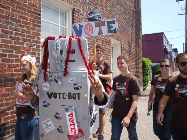 The Rise of the VoteBot Army