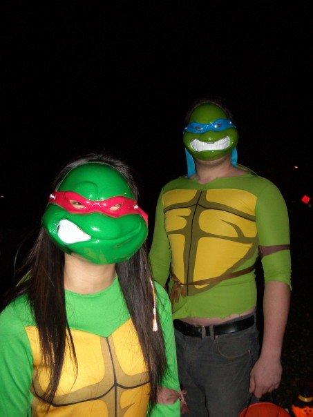 Teenage Mutant Ninja Turtles! Hell yea!